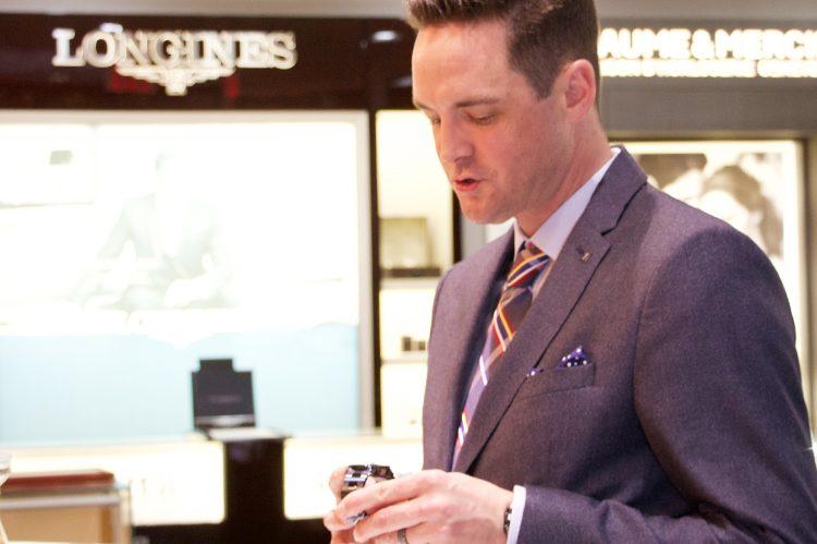TISSOT Regional Sales Manager, Ontario & Atlantic Canada, Scott Bailey