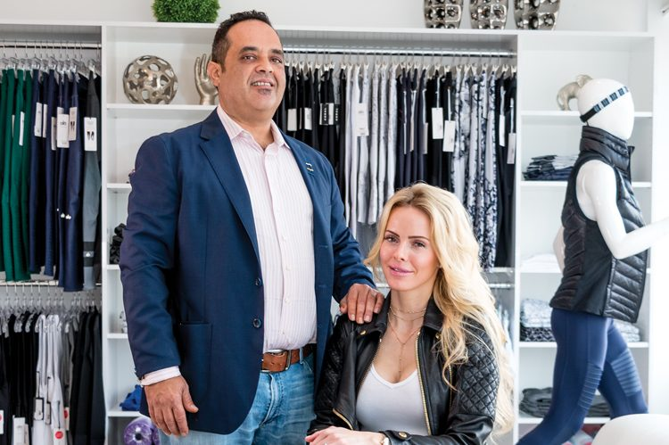 Victoria and Robert DiGiammarino founded UGOSporty in the fall of 2016 with the goal of introducing fresh, unique athleisure pieces to the Vaughan area