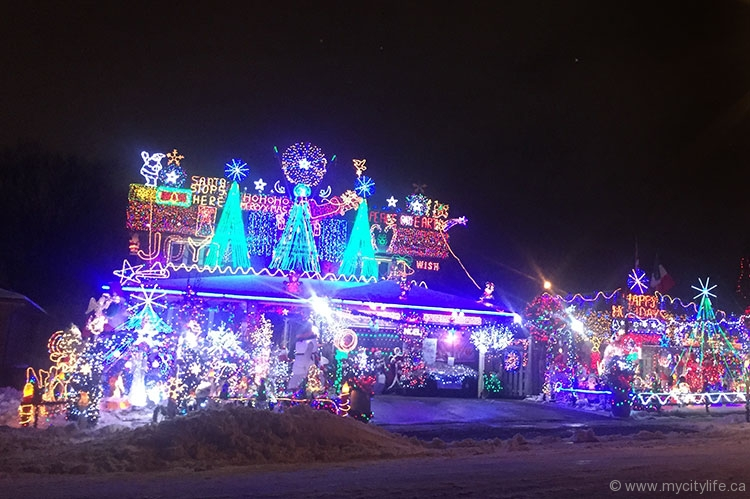 A snap of the De Sario Family Festival of Lights, as judged on this season of The Great Christmas Light Fight
