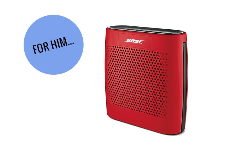 8. Bose Soundlink Bluetooth Speaker (available at staples)