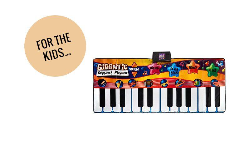 13. Gigantic Keyboard Playmat
