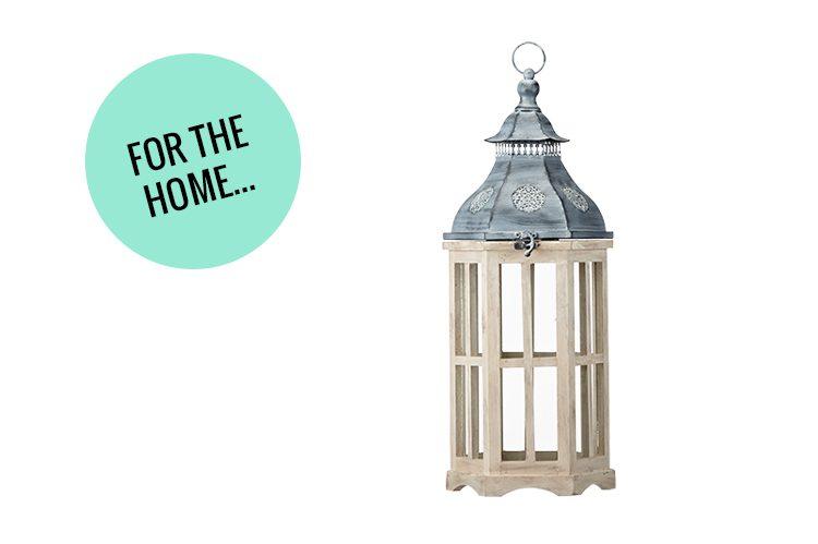 20. Hexagon Tin Lantern