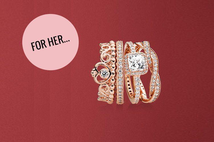 4. Pandora Vaughan Mills: Rose Gold Collection