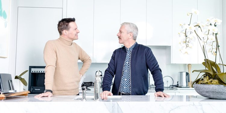 Catch designers Colin McAllister (left) and Justin Ryan (right) as they star as judges in W Network's Game of Homes | Photo by Robin Gartner