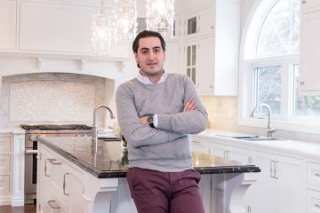 Joseph Primucci, president of NIICO Millwork Group, is involved in all aspects of his business, including project management, scheduling, production and client relations | Photo by Carlos A. Pinto / Dolce Media Group