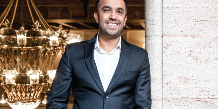 Bestselling author Neil Pasricha was born and raised in Oshawa, Ontario | Photo By Robin Gartner