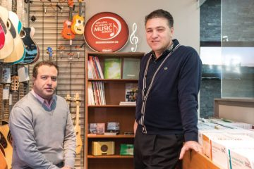 Owners and brothers Pat and Maurizio Di Rauso continue to revolutionize the way music is taught and learned | Photo by Carlos A. Pinto / Dolce Media Group