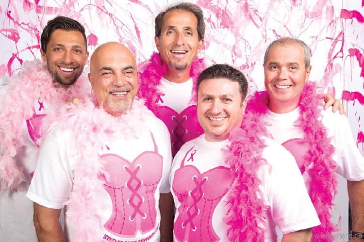 Steeles Paint Goes Pink City Life Vaughan Lifestyle Magazine