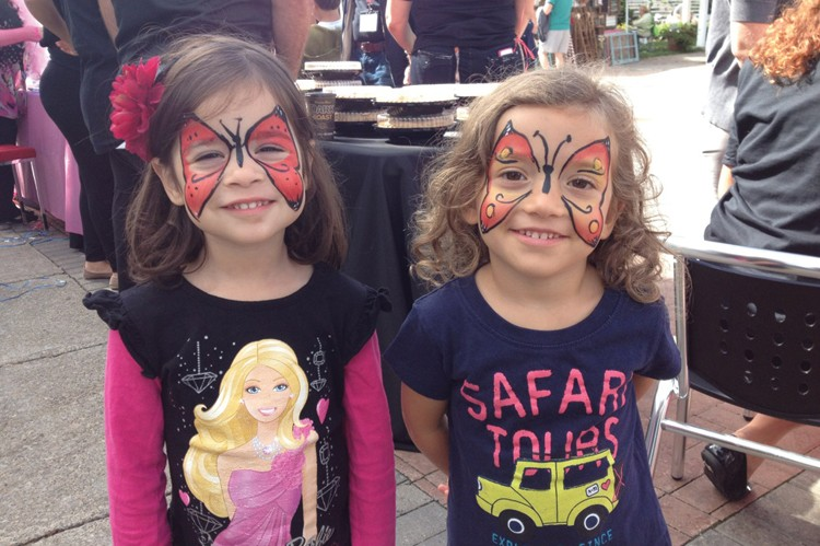A true family affair, Binder Twine entertained the kiddies with face painting and other fun-filled activities