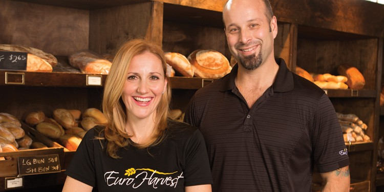 Rose and Mauro Candido, owners of Euro Harvest Bakery