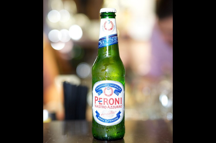 Peroni was one of the event's sponsors