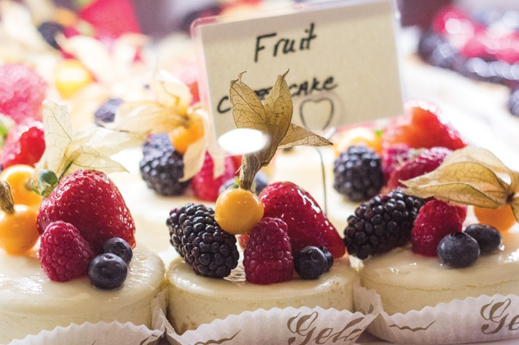 Fruit cheesecake from Dolcini by Joseph