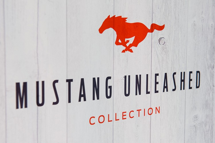 Mustang Unleashed T-shirt collection preview at Hazelton Hotel