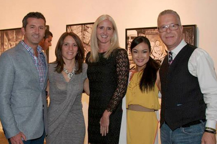 Dolce Media Group cofounder Fernando Zerillo and director of operations Angela Palmieri-Zerillo; Global Family's executive director Jennifer Jensen; Digital Imprint's creative principal Halcyon Tan, and Colourfast president Joseph Manzoli