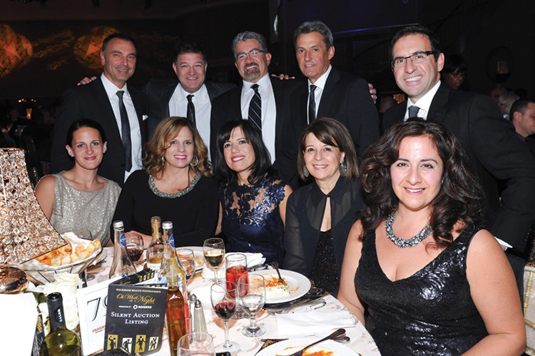 Presenting sponsor Rogers' table