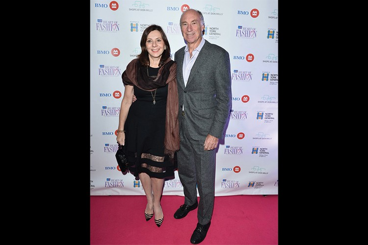 Leo DelZotto, president of Tridel Group of Companies, and wife Sandra