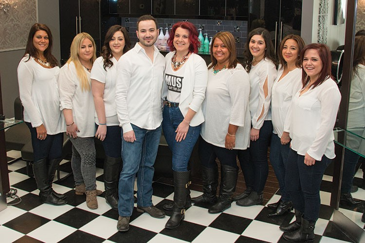 Diana Di Biase leads the dynamic team of stylists at La Couture Hair Lounge, which offers an array of hair and esthetic services