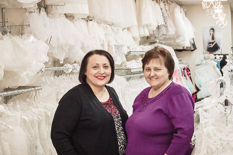 Sisters Santina and Anna, co-owners of Zero 20 Kids, offer higher-end children's fashions for a fair price