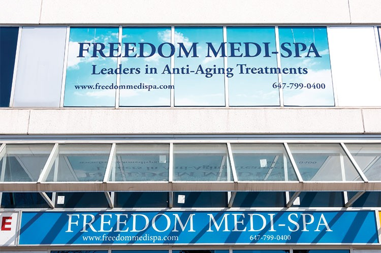Dedicated to professional, comfortable service, each Freedom Medi-Spa client is warmly welcomed in a comfortable and luxurious atmosphere