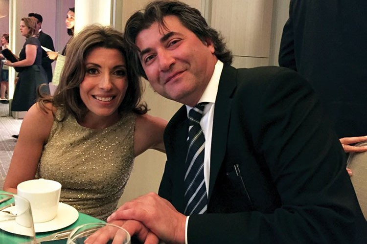 Sylvia and Koko Aghamanoukian