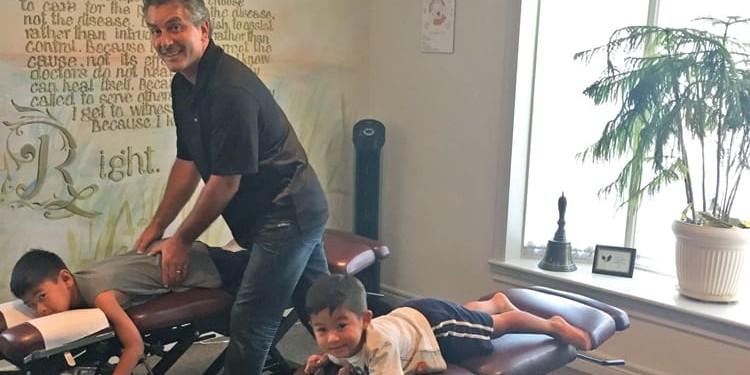 Dr. Andrew Scott, owner of Scott Family Chiropractic