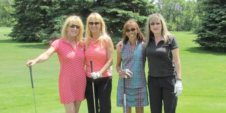 Left to right: Heidi Bryans, Mary Baldisarre, Shirley Steele and Laurie Regan