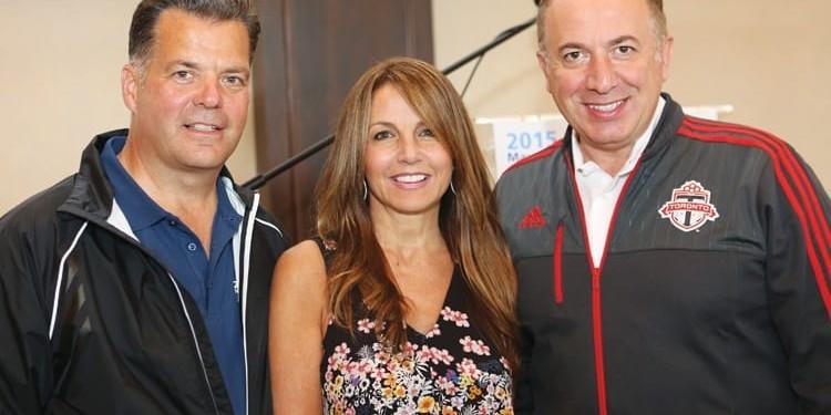 Brian Bentz, Barb DiGiulio and Mayor Maurizio Bevilacqua