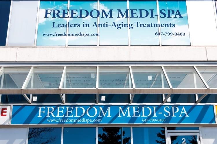 Freedom Medi-Spa in Woodbridge celebrates its second anniversary