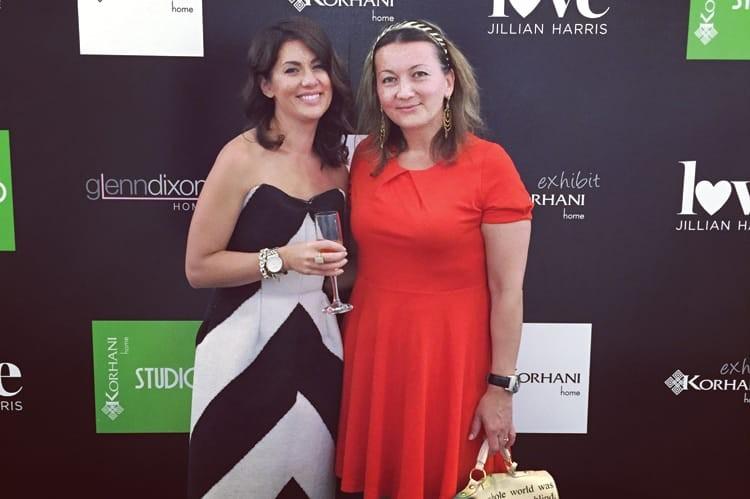 Interior designer Jillian Harris and Michelle Zerillo-Sosa