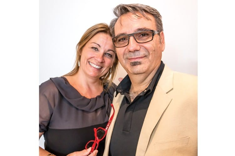 Nathalie Lévesque and Gino Lévesque