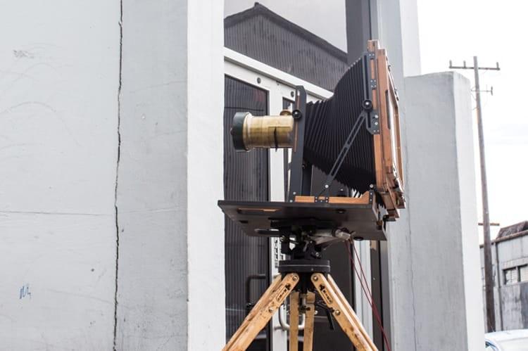 Alberts' Chamonix view camera