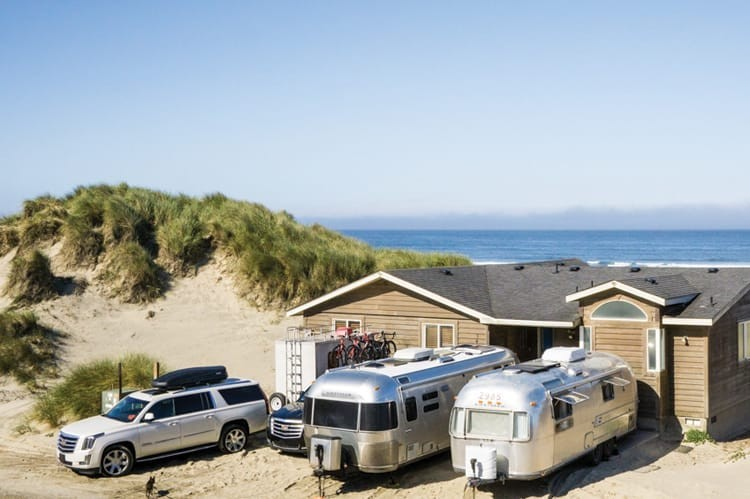 Camped out at the beach in Pacific City