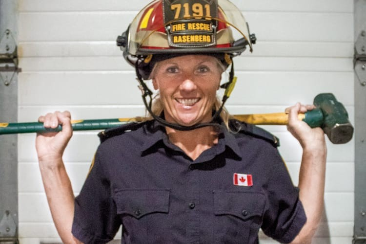 CAPT. JACQUELINE RASENBERG, VAUGHAN FIRE AND RESCUE
