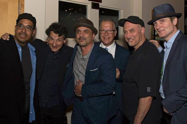 Left to Right: Danilo Perez, John Patitucci, Marco Pignataro, Joseph Manzoli, Roberto Occhipinti, Tim Ries