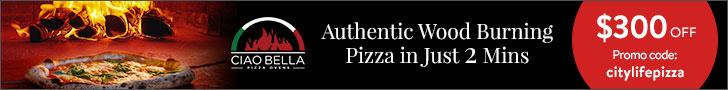 Ciao Bella Pizza Oven